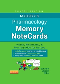 Mosby's Pharmacology Memory NoteCards - 4th Edition - ISBN: 9780323289542, 9780323290494