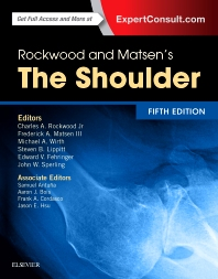 cover of Rockwood and Matsen's The Shoulder - 5th Edition
