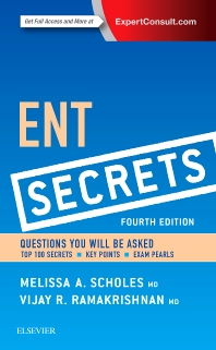 ENT Secrets - 4th Edition - ISBN: 9780323298568, 9780323315968