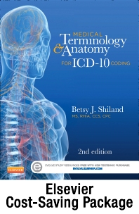 Cover image for Medical Terminology Online for Medical Terminology & Anatomy for ICD-10 Coding (Access Code and Textbook Package)