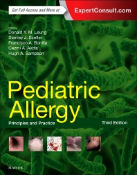 Cover image for Pediatric Allergy: Principles and Practice