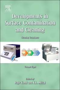 Developments in Surface Contamination and Cleaning, Volume 8 - 1st Edition - ISBN: 9780323299619, 9780323312714