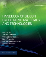 Cover image for Handbook of Silicon Based MEMS Materials and Technologies