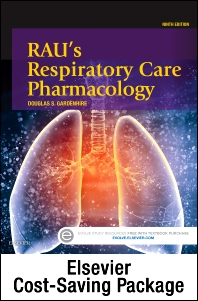 Cover image for Rau's Respiratory Care Pharmacology - Text and Workbook Package