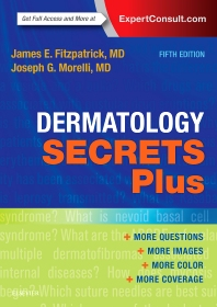 Cover image for Dermatology Secrets Plus