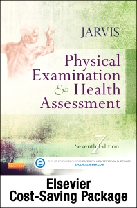 Cover image for Physical Examination and Health Assessment and Elsevier Adaptive Quizzing Package
