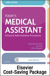 Today's Medical Assistant - Book, Study Guide, and SimChart for the Medical Office Package - 3rd Edition - ISBN: 9780323312080