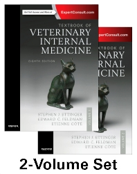 Cover image for Textbook of Veterinary Internal Medicine Expert Consult