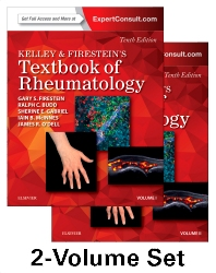 Cover image for Kelley and Firestein's Textbook of Rheumatology, 2-Volume Set