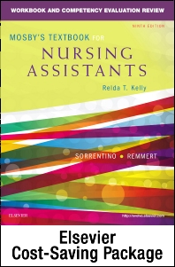 Cover image for Mosby's Textbook for Nursing Assistants - Textbook and Workbook Package