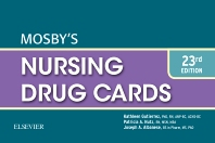 Mosby's Nursing Drug Cards - 23rd Edition - ISBN: 9780323320818, 9780323320825