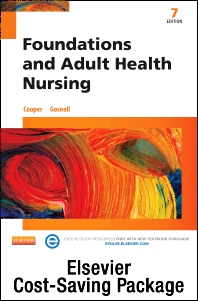 Cover image for Foundations and Adult Health Nursing - Text and Adaptive Learning Package