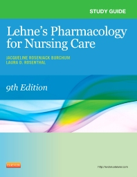 Cover image for Study Guide for Lehne's Pharmacology for Nursing Care