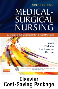 Cover image for Medical-Surgical Nursing - Two-Volume Text and Adaptive Learning Package