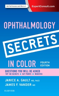 Cover image for Ophthalmology Secrets in Color