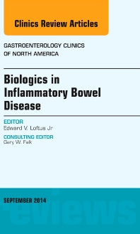 Cover image for Biologics in Inflammatory Bowel Disease, An issue of Gastroenterology Clinics of North America