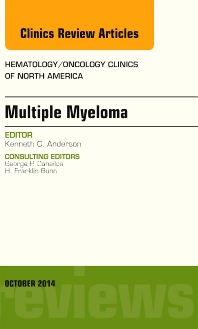 Cover image for Multiple Myeloma, An Issue of Hematology/Oncology Clinics