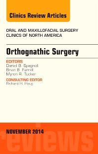 Cover image for Orthognathic Surgery, An Issue of Oral and Maxillofacial Clinics of North America 26-4
