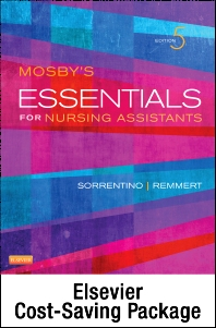Cover image for Mosby's Essentials for Nursing Assistants - Text, Workbook and Mosby's Nursing Assistant Skills DVD - Student Version 4.0 Package