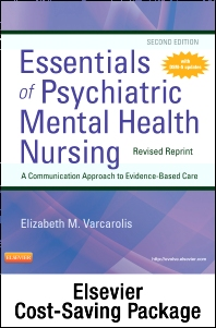 Cover image for Essentials of Psychiatric Mental Health Nursing-Revised Reprint Text and Elsevier Adaptive Learning Package