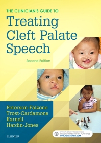 Cover image for The Clinician's Guide to Treating Cleft Palate Speech