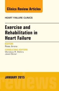 Cover image for Exercise and Rehabilitation in Heart Failure, An Issue of Heart Failure Clinics
