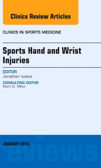 Cover image for Sports Hand and Wrist Injuries, An Issue of Clinics in Sports Medicine