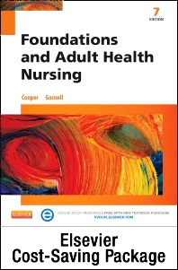 Foundations and Adult Health Nursing - Text and Elsevier Adaptive Learning and Elsevier Adaptive Quizzing (Retail Access Cards) Package - 7th Edition - ISBN: 9780323352611