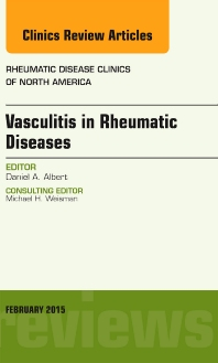 Cover image for Vasculitis in Rheumatic Diseases, An Issue of Rheumatic Disease Clinics