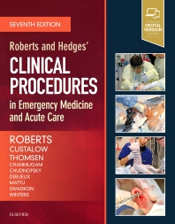 cover of Roberts and Hedges' Clinical Procedures in Emergency Medicine and Acute Care - 7th Edition