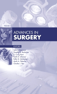 Cover image for Advances in Surgery, 2015