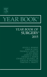 Year Book of Surgery 2015 - 1st Edition - ISBN: 9780323355544, 9780323442329