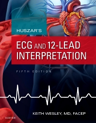 Cover image for Huszar's ECG and 12-Lead Interpretation