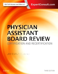 Cover image for Physician Assistant Board Review