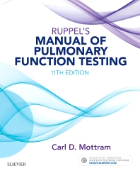 Cover image for Ruppel's Manual of Pulmonary Function Testing