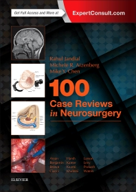 cover of 100 Case Reviews in Neurosurgery - 1st Edition