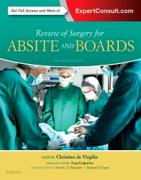 Cover image for Review of Surgery for ABSITE and Boards