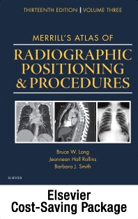 Cover image for Mosby's Radiography Online: Anatomy and Positioning for Merrill's Atlas of Radiographic Positioning & Procedures (Access Code, Textbook, and Workbook Package)