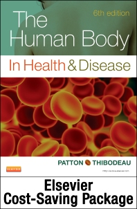 Cover image for The Human Body in Health and Disease - Text and Elsevier Adaptive Learning and Elsevier Adaptive Quizzing Package