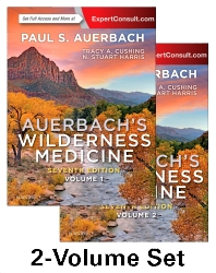 cover of Auerbach's Wilderness Medicine, 2-Volume Set - 7th Edition