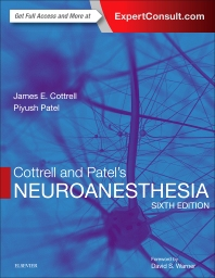 cover of Cottrell and Patel's Neuroanesthesia - 6th Edition