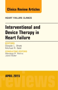 Cover image for Interventional and Device Therapy in Heart Failure, An Issue of Heart Failure Clinics