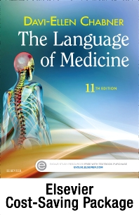 Cover image for The Language of Medicine - Text and Elsevier Adaptive Learning Package
