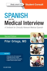 Cover image for Spanish and the Medical Interview