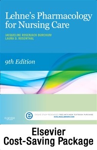 Cover image for Pharmacology Online for Pharmacology for Nursing Care (Access Code and Textbook Package)