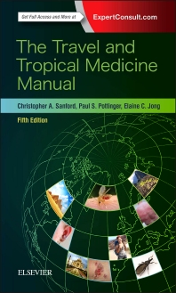 cover of The Travel and Tropical Medicine Manual - 5th Edition
