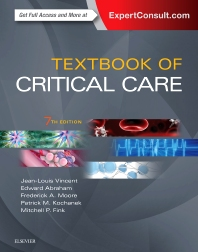 Cover image for Textbook of Critical Care