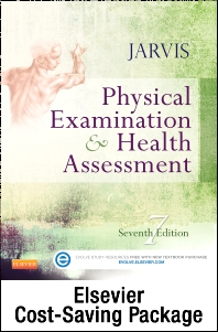 Cover image for Physical Examination and Health Assessment - Text and Elsevier Adaptive Learning (Access Card) Package
