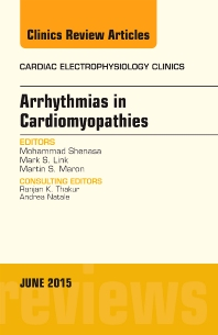 Cover image for Arrhythmias in Cardiomyopathies, An Issue of Cardiac Electrophysiology Clinics