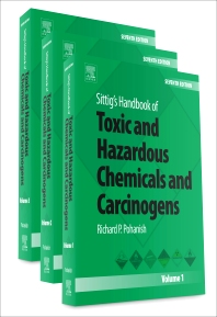 Book cover image for Sittig's Handbook of Toxic and Hazardous Chemicals and Carcinogens (Seventh Edition)